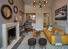 Современные апартаменты с внутренним двориком в Лондоне | Пуфик - блог о дизайне интерьера