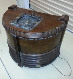 **I Can Ship This** Zenith 6S341 black dial chair side antique tube radio 1938 | eBay