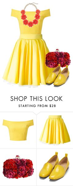 """Dapper Day Belle"" by k-tomlin ❤ liked on Polyvore featuring Miss Selfridge, Philipp Plein, Alexander McQueen and Bill Blass"