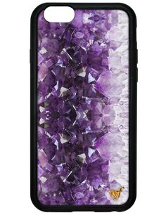 We are in love with this violet gem from our Crystal and Stone Collection, the Amethyst iPhone 6 case! Available in iPhone and Plus One-of-a-kind, limited edition phone case Durable pr Iphone 5 Cases, Iphone 6 Plus Case, Cute Phone Cases, 5s Cases, Cool Cases, Coque Iphone, Iphone Accessories, Just In Case, Mobiles