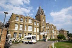Chase Farm Hospital - where I was born in 1967