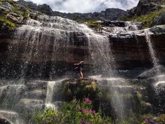 Revelling in the waterfalls that appear suddenly after a Cape storm. (Photo: A Jacobsen) Table Mountain, African Culture, Wild Animals, Some Pictures, Cape Town, Suddenly, Waterfalls, Places To See, South Africa