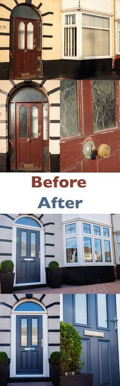 What an amazing transformation a new front entrance makes.