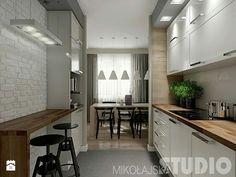 Kitchen Interior, New Kitchen, Home Interior Design, Kitchen Dining, Kitchen Decor, Grey Kitchens, Home Kitchens, Gray And White Kitchen, Cuisines Design