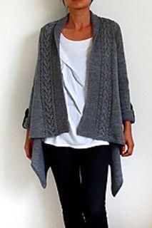 laura cardigan knitting pattern