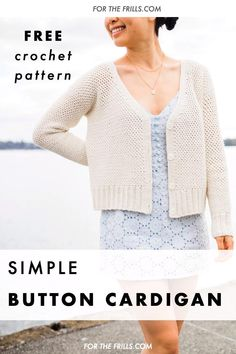 Crochet Woman, Diy Crochet, Simple Crochet, Modern Crochet, Learn To Crochet, Crochet Designs, Crochet Patterns, Knit Stitches For Beginners, Crochet Waffle Stitch