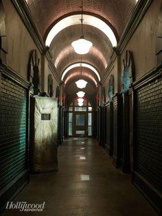 'American Horror Story: Asylum': The Spookiest Set on Television Ahs Asylum, Arkham Asylum, Black Widow Aesthetic, American Horror Story Asylum, Call Of Cthulhu, Bioshock, Gotham City, Horror Stories, Abandoned Places