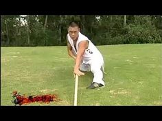 Shaolin kung fu yin-hand staff - YouTube