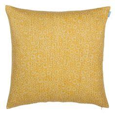 Sakura in mustard Cushion Cover 45cm