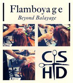A new way of hair colour for the modern woman. #Flamboyage http://www.christinasanchezhairdesign.com @Davines  #davines #hairbrained