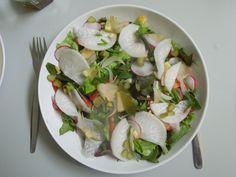 salada para um