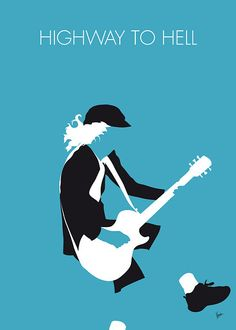 """AC/DC Minimal Music poster """"Highway to Hell"""" is the opening track of AC/DC's 1979 album Highway to Hell. Minimalist Music, Minimalist Poster, Minimalist Kitchen, 70s Music, Rock Music, Rock Songs, Hard Rock, Historia Do Rock, Heavy Metal"""