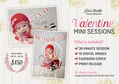 Valentine Photography Marketing PSD  @creativework247