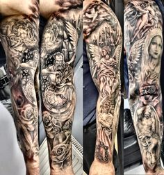 Religious sleeve tattoo!