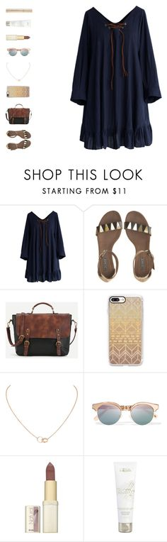"""""""infinity"""" by ouchm4rvel ❤ liked on Polyvore featuring Chicwish, Vic Matié, Casetify, Cartier, Le Specs, L'Oréal Paris and Dolce&Gabbana"""
