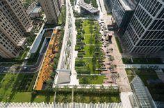 Beiqijia Technology Business District, Beijing, China - Martha Schwartz Partners