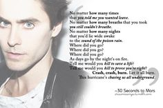 Hurricane - 30 Seconds to Mars