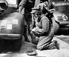 This undated file picture taken in the 1940s shows Princess Elizabeth changing the wheel of a military vehicle during the World War II, in an unknown location.