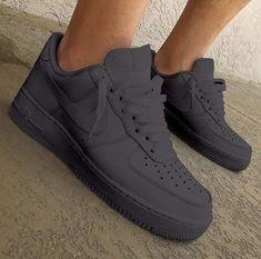 sneakers for cheap 268d8 3b29b Nike Air Force Grey, Nike Air Force 1 Outfit, Nike Shoes Air Force,