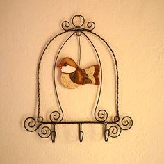 ptačí klec - věšáček