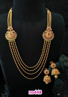 Gold Wedding Jewelry, Gold Jewelry Simple, Bridal Jewelry, Beaded Jewelry, Gold Chain Design, Gold Jewellery Design, Layered Chains, Nameplate Necklace, India Jewelry
