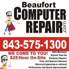 Pro Bono or Donation Based Computer Repair Services - http://beaufortcomputerrepair.com/pro-bono-or-donation-based-computer-repair-services/