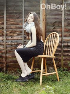 Krystal Jung Head Cover Look in Oh Boy