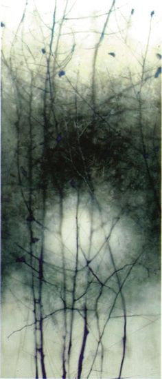 Marci Crawford Harnden - collection no. 09 We are locally owned, sell loads of encaustic supplies, and provide discounts to students and professional artists! Encaustic Painting, Painting & Drawing, Foto Art, Monochrom, Art Graphique, Gravure, Painting Inspiration, Printmaking, Branches