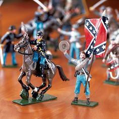 Because Dan and I are that big of losers. Lead Soldiers, Toy Soldiers, Fishing Shop, People Having Fun, Confederate Flag, Anime Toys, Metal Toys, Presents For Men, Miniature Figurines