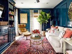 17 Distinctive Ways to Decorate with Blue Walls in Every Shade | Better Homes & Gardens