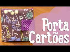 Porta-Cartões - Costura Comigo - YouTube