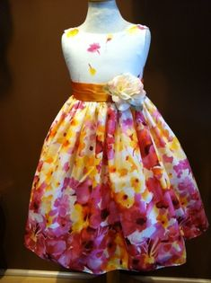 Beautiful spring dress for toddlers and pre-teens! $38.99