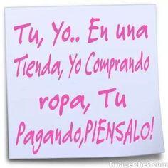 Jajaja ༺✿ƬⱤღ http://www.pinterest.com/teretegui/✿༻ #humor #frases