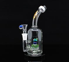 Humor Collectible Grow In The Dark Silicon Bong Hookah Bubbler Water Smoking Pipe Herb Fancy Colours Hookahs
