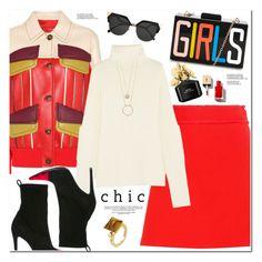 """Chic"" by oshint ❤ liked on Polyvore featuring Prada, Miu Miu, Joseph, Haider Ackermann, Fendi, Marc Jacobs, Kate Spade and Gucci"