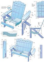 Woodworking How To - Free Adirondack Chair Plans! Learn to DIY Adirondack Chairs, those fabulous Cap Cod chairs on which to sunbake all afternoon. Plans Chaise Adirondack, Adirondack Furniture, Pallet Furniture, Furniture Projects, Furniture Plans, Rustic Furniture, Wood Projects, Adirondack Chairs, Outdoor Furniture