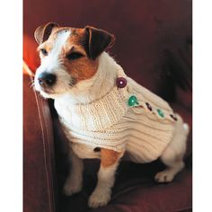 Give Rover a makeover with this super-cute dog jumper knitting pattern. Find more easy knitting patterns on prima.co.uk