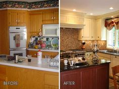 Renovated Kitchens Before And After ~ http://modtopiastudio.com/kitchens-before-and-after-remodel-ideas/