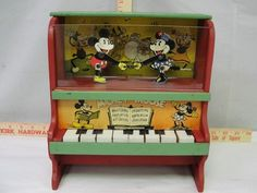 1930s Mickey Mouse Piano by Marx