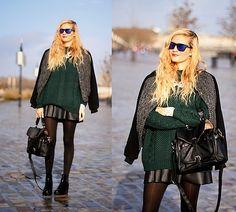 Adenorah - Green jumper (by Adenorah M) http://lookbook.nu/look/4363281