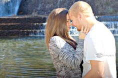 Fall Engagement Douthat State Park