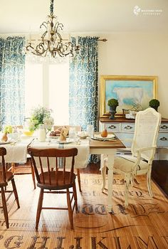Another of Miss Mustard Seeds dining room photos