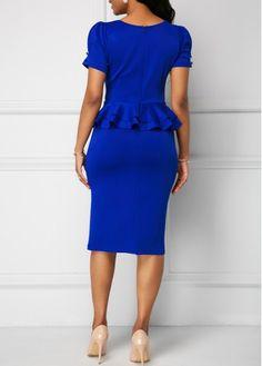 Dresses For Women Cute Dress Outfits, Cute Dresses, Vintage Dresses, Casual Dresses, Peplum Gown, Sheath Dress, Plus Dresses, Dresses For Sale, Church Fashion