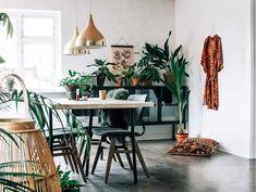 Shop the look: interieur met een mix van etnisch boho en industrieel