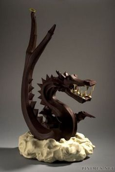 Chocolate dragon