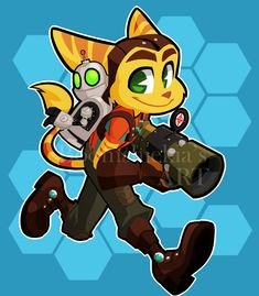 Ratchet And Clank by Boomsheika