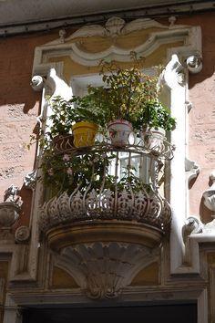 Juliet balcony.