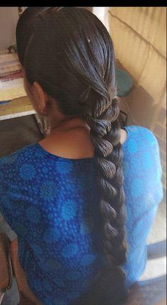 French Braid Hairstyles, Indian Hairstyles, Braided Hairstyles, Indian Long Hair Braid, Big Bun, Velvet Hair, Oily Hair, Beautiful Braids, Braids For Long Hair