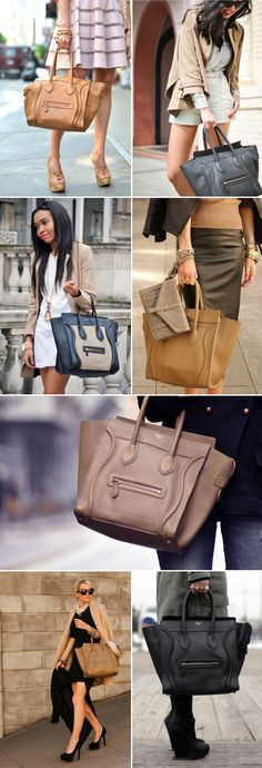 I'm fallen in love with the CelineBostonBag