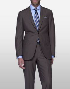 nobody does brown suiting fabrics like Ermenegildo Zegna